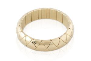 Aura Yellow Goldplated Ceramic Bracelet