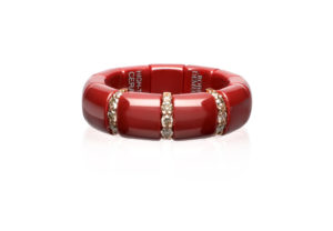 pura red ceramic ring