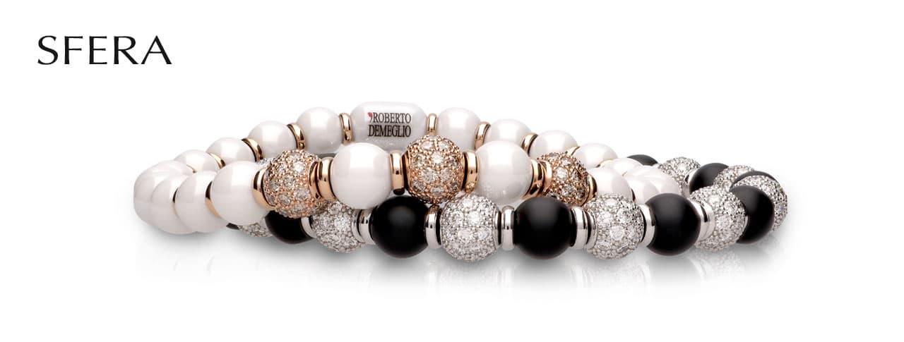 SFERA flexible ceramic diamonds 18K gold